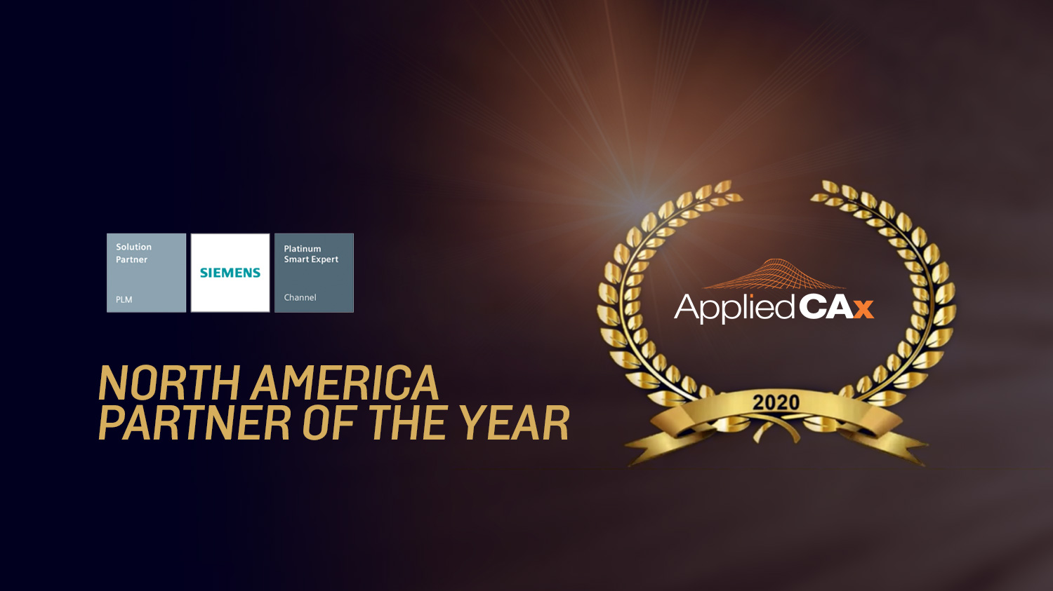 applied cax 2020 siemens partner of the year