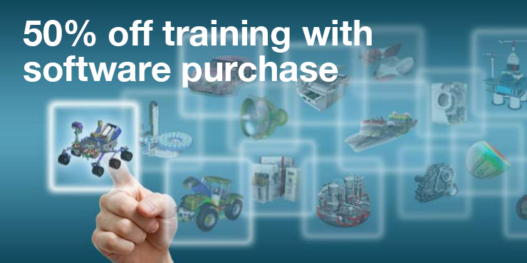 Half off NX training with software