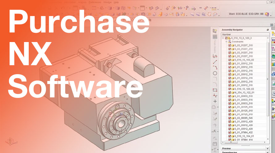 Applied CAx purchase NX software