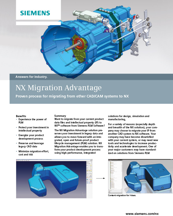 NX Migration Advantage