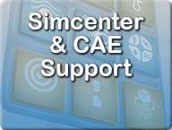 Simcenter and CAE support